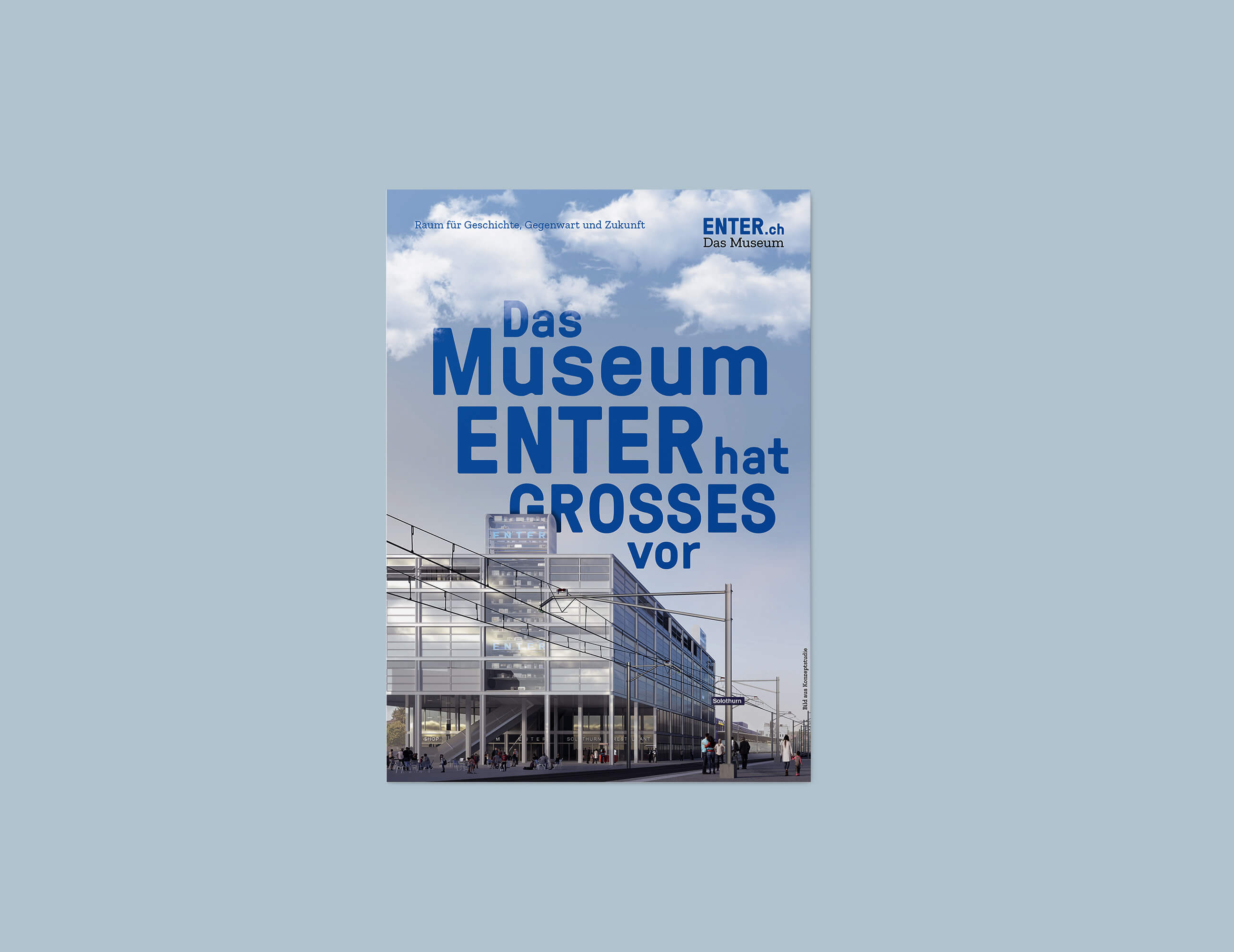 museum enter flyer cover