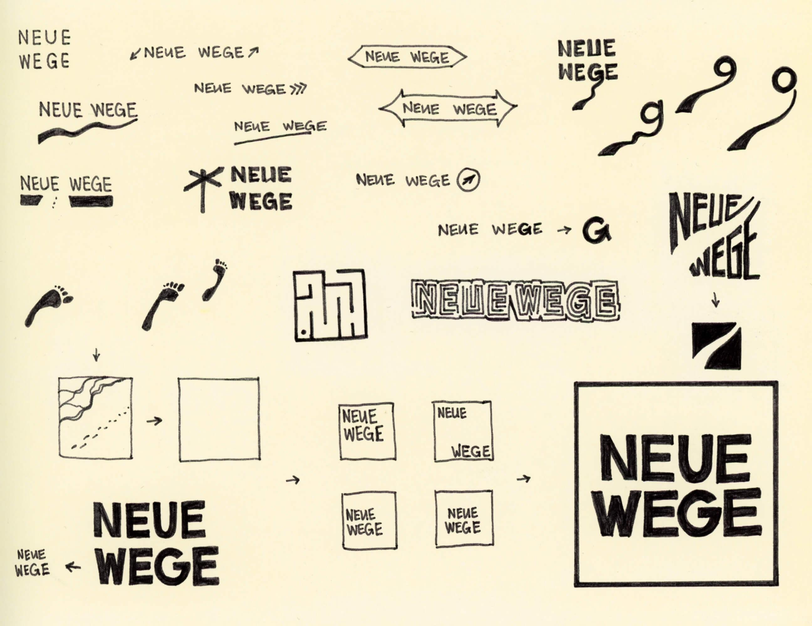 neue wege sketches